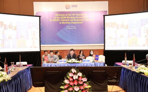 ASEAN 2020: 东盟齐心协力和主动适应的海洋合作 hinh anh 2
