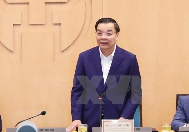 河内市力争在2021年完成23项经济社会发展指标 hinh anh 1