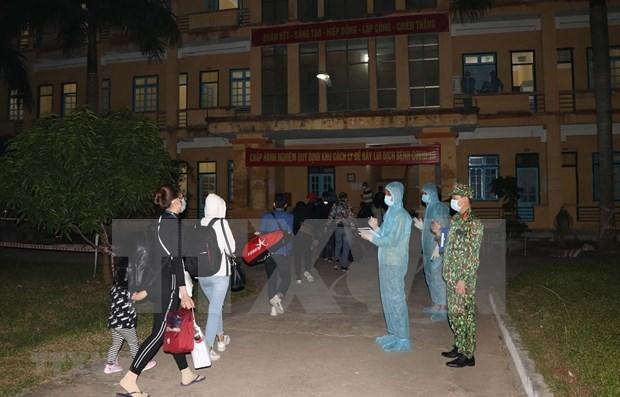 越南新增5例新冠肺炎确诊病例 新增康复病例5例 hinh anh 1