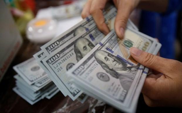 15日上午越盾对美元汇率中间价下调1越盾 hinh anh 1