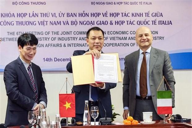 越南与意大利促进经贸合作 hinh anh 2