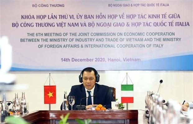 越南与意大利促进经贸合作 hinh anh 1