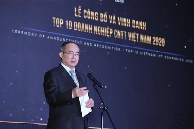 越南信息技术产业对全国GDP贡献率达14.3% hinh anh 1