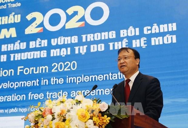 2020年全年越南商品出口总额或达2670亿美元 hinh anh 1