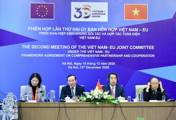 越南与欧盟混合委员会第二次会议召开 hinh anh 2