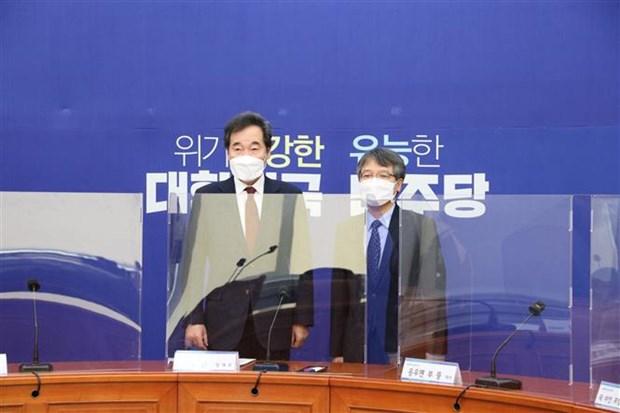 韩国执政党主席:越南是韩国南方政策的核心合作伙伴 hinh anh 1