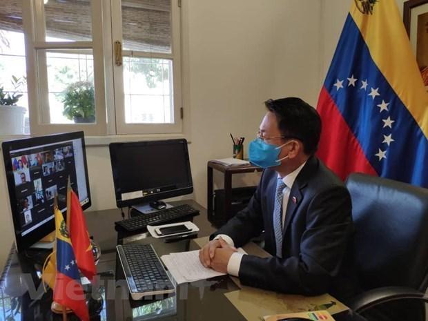越南政府和人民一向重视与委内瑞拉的关系 hinh anh 1