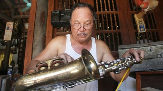 范炮村——南定省著名西洋管乐器生产基地 hinh anh 1