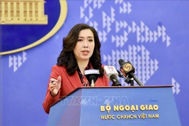 越南保持与美国的对话和磋商 有效处理经贸关系中各障碍 hinh anh 1