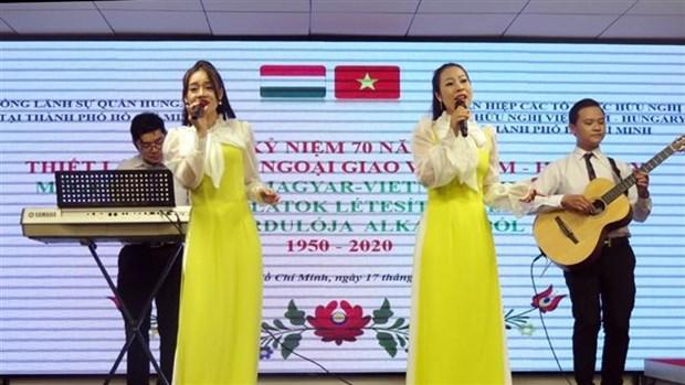 越南与匈牙利建交70周年纪念活动在胡志明市举行 hinh anh 2