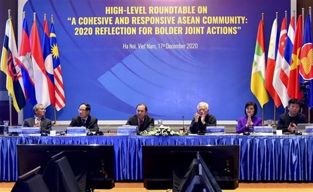 ASEAN 2020:继续发挥东盟作用以有效应对各种挑战和稳步前进 hinh anh 1