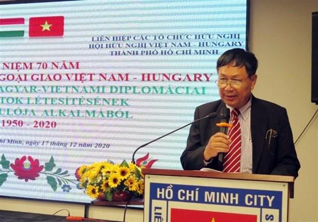 越南与匈牙利建交70周年纪念活动在胡志明市举行 hinh anh 1
