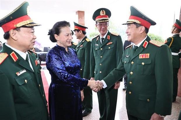 阮氏金银:第五军区集中建设廉洁强大的党委 hinh anh 1