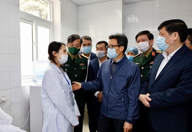 越南首批新冠疫苗试验志愿者的身体健康稳定并没有任何不良反应 hinh anh 3