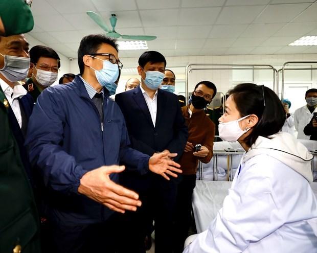 越南首批新冠疫苗试验志愿者的身体健康稳定并没有任何不良反应 hinh anh 4