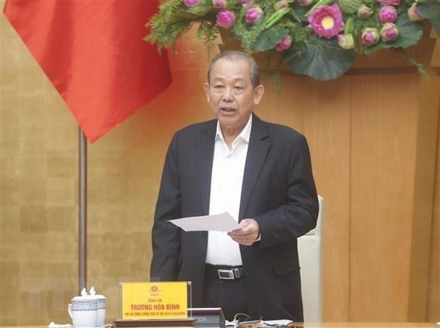 越南成立反腐败国家战略实施总结指导委员会 hinh anh 1