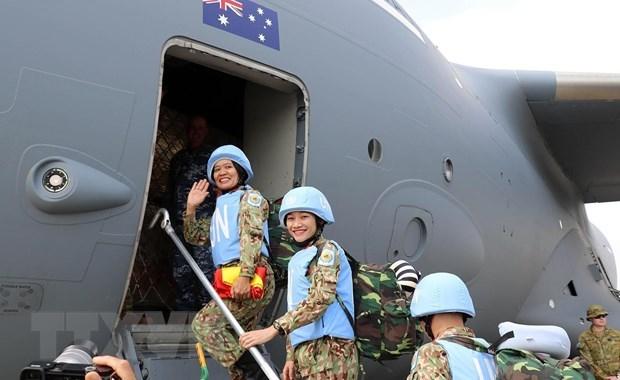 越南人民军建军76周年:国防对外—在建立互信的基础上从早从远保卫国家 hinh anh 3