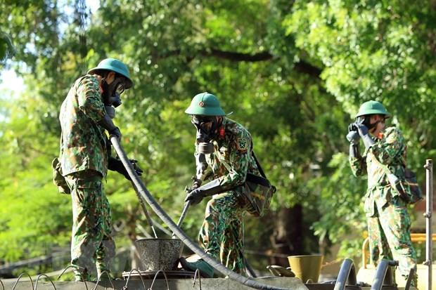 越南人民军建军76周年:国防对外—在建立互信的基础上从早从远保卫国家 hinh anh 2