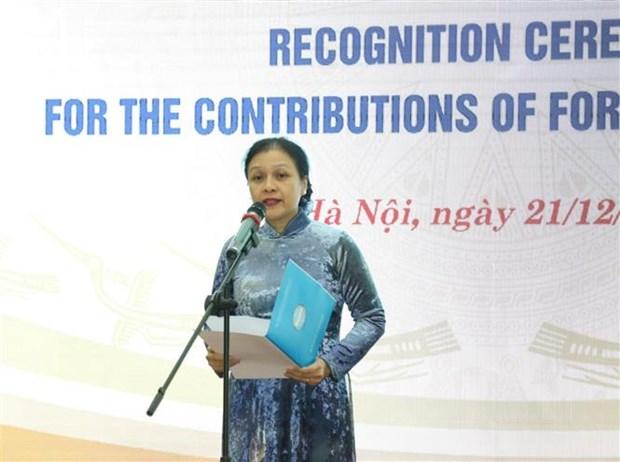 50个外国非政府组织受表彰 hinh anh 2