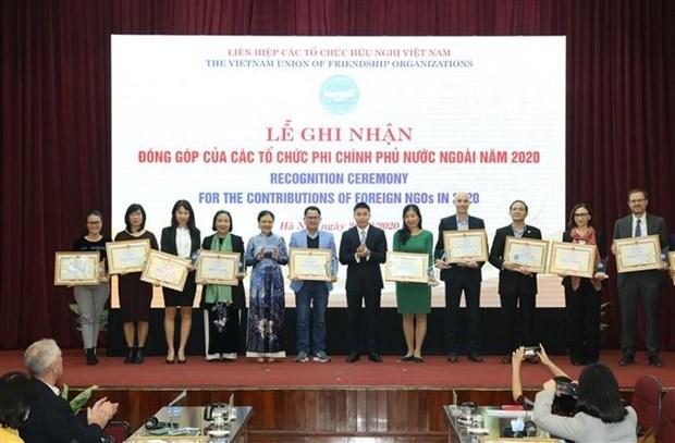 50个外国非政府组织受表彰 hinh anh 1