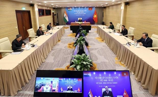 政府总理阮春福与印度总理举行视频会谈 :防务与安全合作是双边关系中的支柱 hinh anh 2
