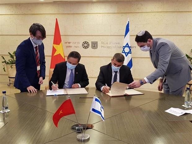 越南与以色列增进航空领域的合作 hinh anh 1