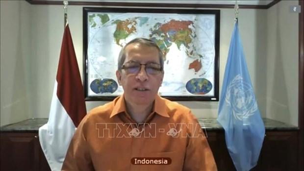 越南与联合国安理会:印尼强调越南为提升东盟声望和形象作出了应有的贡献 hinh anh 1