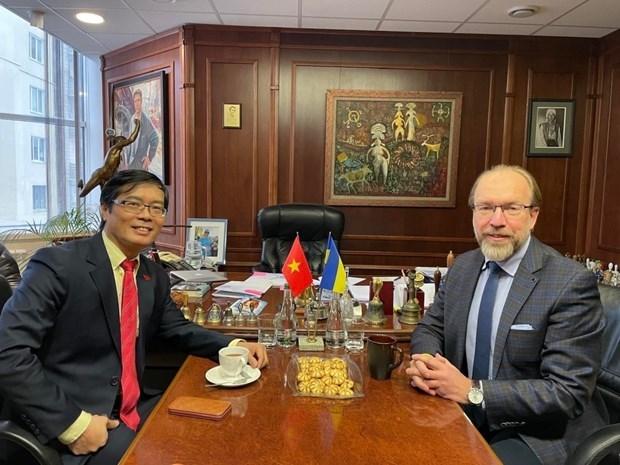 越南与乌克兰促进经贸与投资合作关系 hinh anh 2