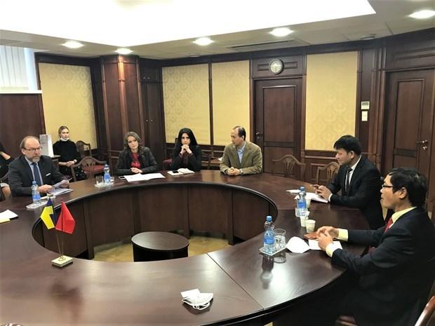 越南与乌克兰促进经贸与投资合作关系 hinh anh 1