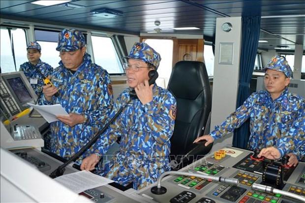 越中开展海上联合巡逻 致力于建设和平、稳定与合作的海域 hinh anh 1