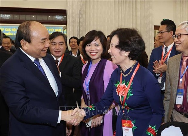 阮春福总理:科学技术须成为现代生产力发展的最重要动力 hinh anh 2