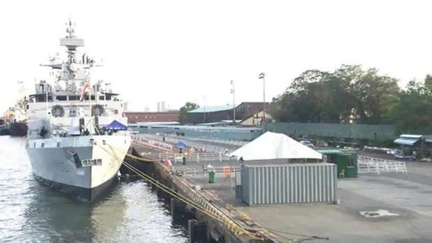 越南与印度加强海事和救灾援助合作 hinh anh 1