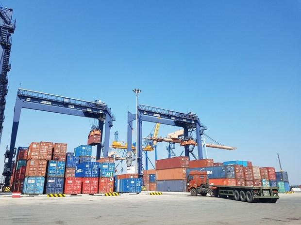 2020年全年越南港口货物吞吐量增长4% hinh anh 1