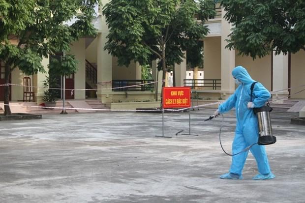 永隆省对违法入境者的第一代接触者进行追踪 hinh anh 1