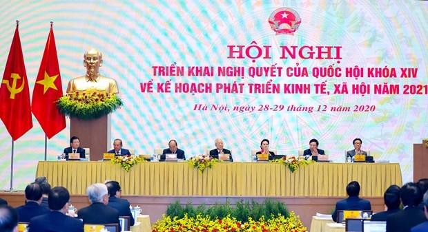 越南政府与各地方全国视频会议正式开幕 hinh anh 2