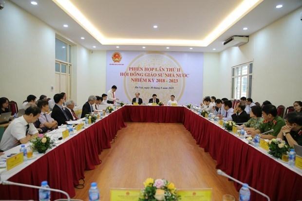 越南的399名教师荣获教授、副教授任职资格证书 hinh anh 1