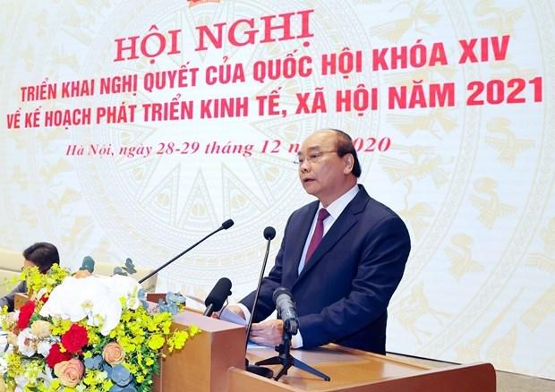 越南政府与各地方全国视频会议正式开幕 hinh anh 1