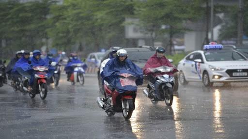 受强冷空气影响越南北部地区12月29日晚出现降雨天气 hinh anh 2