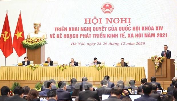 政府与各地方全国视频会议:公安部建议政府采取有效措施来处理非法出入境行为 hinh anh 2
