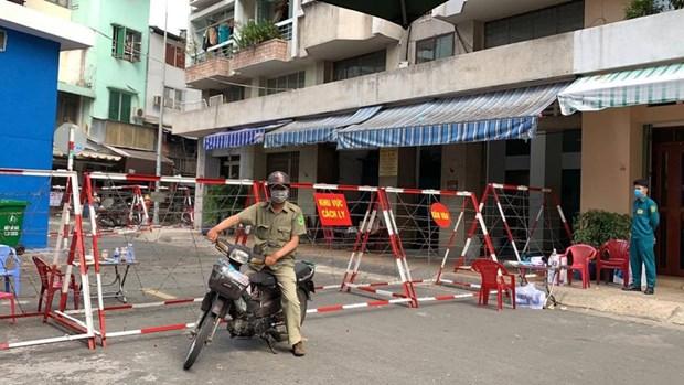 胡志明市找到同第1440例和第1451例非法入境的男子 hinh anh 2