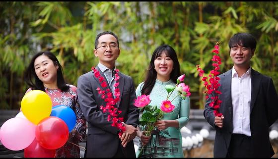 韩国驻越大使通过越文音乐视频传递美好祝愿 hinh anh 2