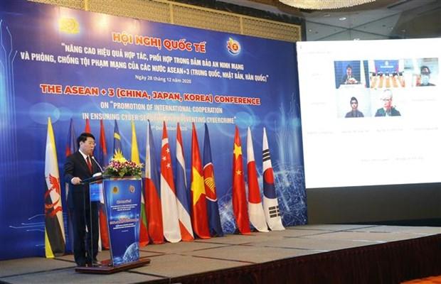东盟与中日韩加强网络安全合作 hinh anh 2