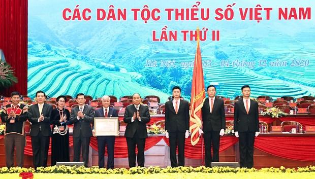 国家伟业永远属于越南各少数民族 hinh anh 1