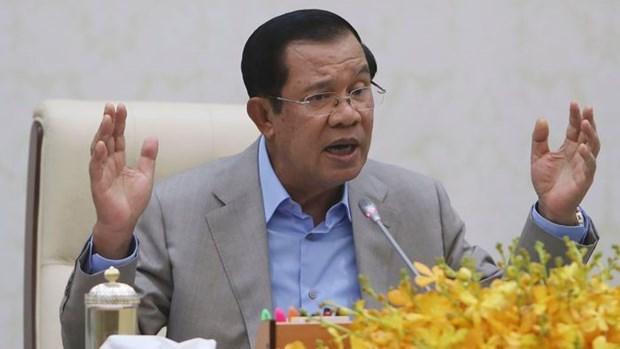 柬埔寨开始远洋石油开采活动 hinh anh 1