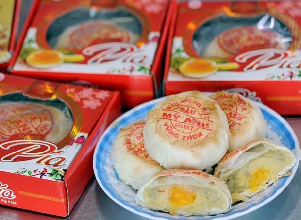 朔庄省榴莲饼 hinh anh 2