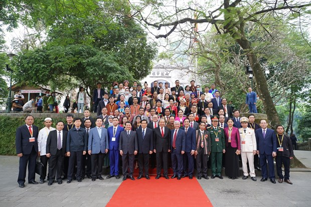 国家伟业永远属于越南各少数民族 hinh anh 2