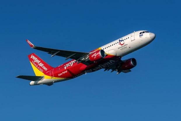 泰国越捷航空从2021年1月每周五执行胡志明市至曼谷的定期商业航班 hinh anh 1