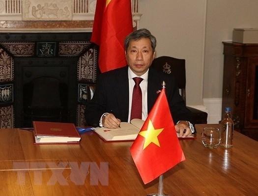 陈玉安大使:《越英自贸协定》助推越英战略伙伴关系提质升级 hinh anh 2