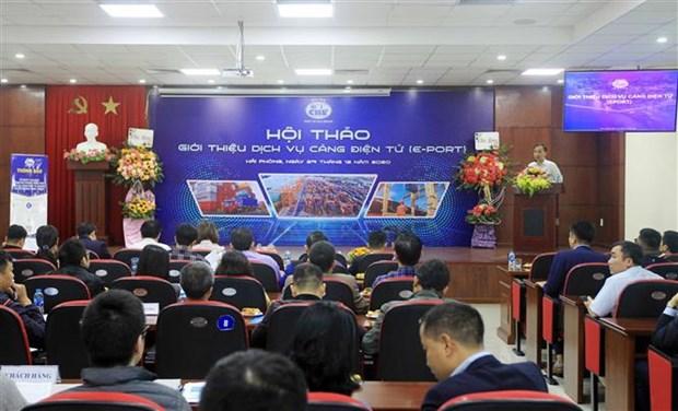 海防港将于2021年1月1日起展开电子港务服务 hinh anh 1