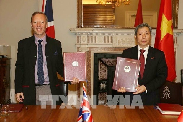 陈玉安大使:《越英自贸协定》助推越英战略伙伴关系提质升级 hinh anh 1